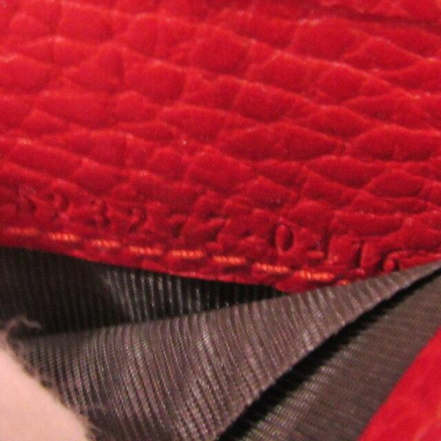 プチマーモント レザーウォレット 三つ折財布
