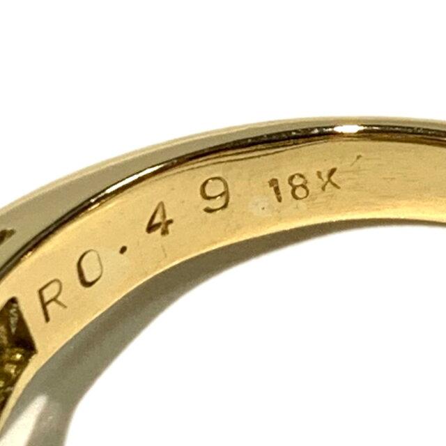 ダイヤモンド ルビー リング 指輪