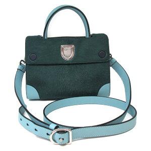 [二手货] Christian Dior西洋镜Diorama单肩包女士皮革Harako绿色蓝色紫色| Dior BRANDOFF品牌折扣品牌品牌包袋包包返回