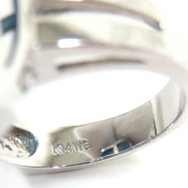 ブルートパーズ リング 指輪