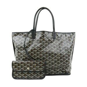 [Used] Goyal Anju PM Tote Bag Ladies Coated Canvas Black | GOYARD BRANDOFF Brand Off Brand Brand Bag Brand Bag Bag Bag Back Tote Bag Tote Bag