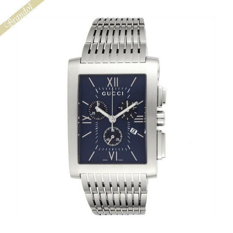 《1300円OFFクーポン対象_4月16日1:59迄》グッチ GUCCI メンズ腕時計 Gメトロ G-Metoro Chrono クロノグラフ ネイビー YA086318 | ブランド