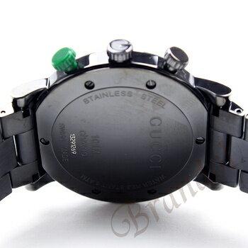グッチGUCCI時計メンズ腕時計GクロノブラックYA101331[在庫あり]