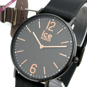 Ice Watch ICE WATCH Ladies' Watch Ice City Cottage with Replacement Belt 36mm Black x Gold CHL.B.COT.36.N.15   Brand