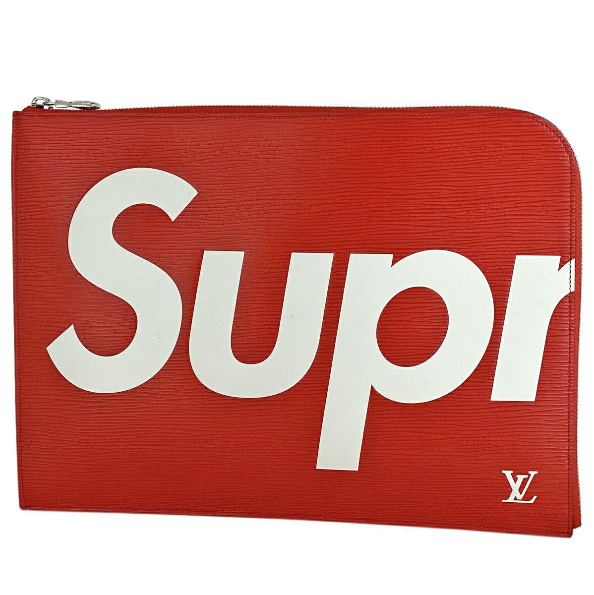 レディースバッグ, クラッチバッグ・セカンドバッグ 70OFF!921 20:00-926 1:59 23OFF Louis Vuitton GM Supreme M67722 msp29perb