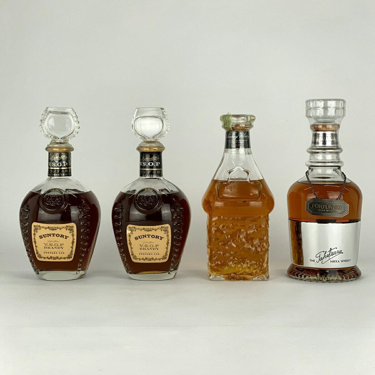 ウイスキー, ジャパニーズ・ウイスキー  SUNTORY VSOP NIKKA 80 4