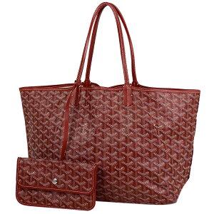 GOYARD GOYARD Saint Louis PM Shoulder bag Handbag Shoulder bag Tote bag Coated canvas Red White Multicolor Women [Used]