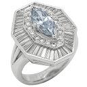 ブルーダイヤモンド デザイン リング 1.056ct FANCY GRAYISH BLUE NATURAL VVS2 NONE Pt900 レディース 【中古】