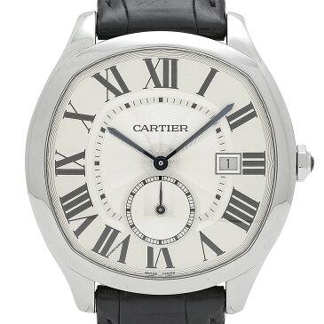 カルティエ CARTIER ドライブドゥカルティエ WSNM0004 腕時計 SS 自動巻き シルバー メンズ 【中古】