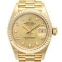 ロレックス ROLEX デイトジャスト 69178G 腕時計 YG ダイヤモンド 自動巻き ゴールド レディース 【中古】