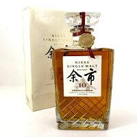 【東京都内限定発送】 ニッカ NIKKA シングルモルト 余市 10年 700ml 国産ウイスキー 【中古】