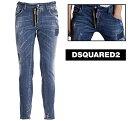 DSQUARED2 ディースクエアード Skater Jeans デニムジーンズS74LB0423