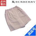 バーバリー・ゴルフ レディース スカート BURBERRY GOLF ♯11ARサイズ 2WAYデザイン ノバチェック キュロット 良品 人気 【中古】 X6703