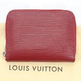 美品 ルイヴィトン LOUIS VUITTON エピ 赤ジッピーコインパース 小銭入れ M6015M【中古】