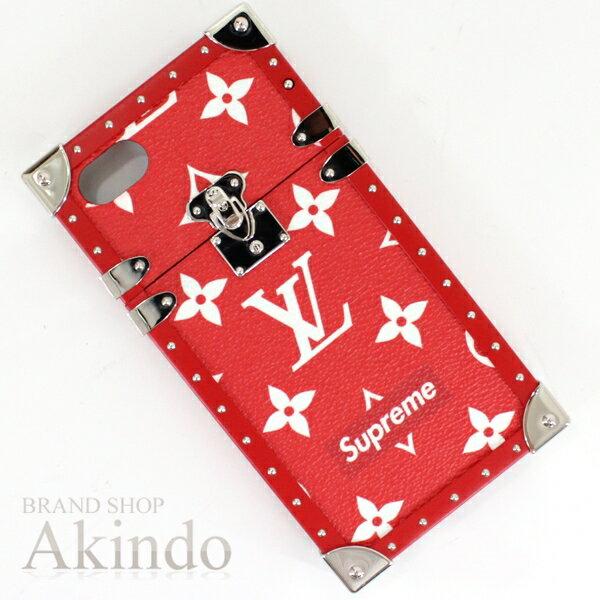 バッグ・小物・ブランド雑貨, その他  iPhone78 6 iphone LOUIS VUITTONSupreme M64499