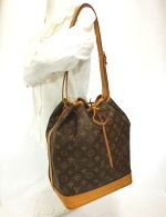 LOUISVUITTON・ルイヴィトンノエワンショルダーバッグ巾着タイプ肩掛けモノグラムレディースブランドフランス製特価品中古19-5018