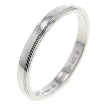 カルティエ ダムール 2.5mm リング 指輪 プラチナPT950 54号 メンズ CARTIER【中古】K80923982