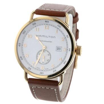 緊急値下げ!ハミルトン カーキネイビー パイオニア オートマ 白文字盤 イニシャルあり 腕時計 H777450 ステンレススチール レザー ホワイト メンズ HAMILTON 【中古】K90223147 【PD3】