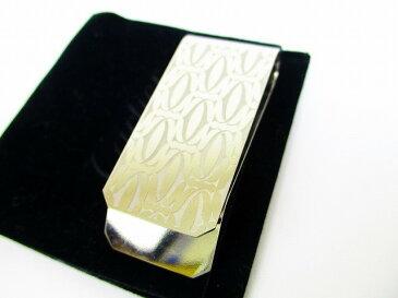 【超美品】 Cartier カルティエ 2C マネークリップ ビルクリップ スイス製 メンズ レディース シルバー 【中古】