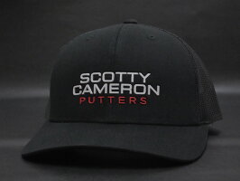 【送料・代引き手数料無料】【未使用S品】【激レア品♪】SCOTTYCAMERONスコッティキャメロン2018ギャラリー限定メッシュキャップブラック帽子