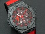【送料・代引き手数料無料】【中古】HUBLOTウブロアエロバンレッドデビル26香川真司モデル311.QX.1113.GR.MUK13自動巻き腕時計