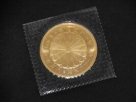 【送料・代引き手数料無料】未開封昭和61年天皇陛下御在位60年記念10万円金貨記念硬貨