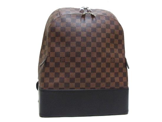 【送料無料・代引き手数料無料】【新品同様 S品】 LOUIS VUITTON ルイヴィトン ダミエ ジェイク・バックパック N41558 リュックサック:brandshop urukau