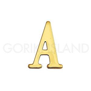 真鍮製切り文字 縦30mmサイズ 「A」ブラスレター 30 A