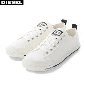 ディーゼル DIESEL キャンバススニーカー ローカット メンズ S-ASTICO LOW Y02367 PR012 ホワイト
