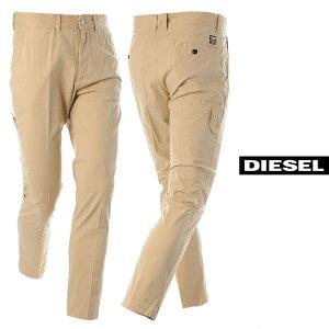 ディーゼル DIESEL コットンチノワークパンツ メンズ ブランド P-PHILLIPE-KA A00089-0AAZN ベージュ 2021春夏セール