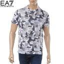 エンポリオアルマーニ EMPORIO ARMANI EA7 クルーネックTシャツ 半袖 メンズ 3GPT17 PJR2Z ホワイト