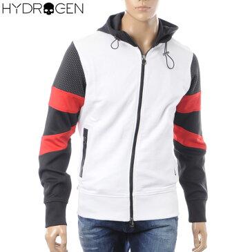 ハイドロゲン HYDROGEN ジップアップパーカー スウェット メンズ 225600 ホワイト