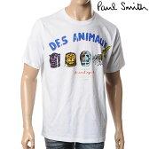 PAUL SMITH【ポールスミス】メンズ半袖Tシャツ/クルーネック/ホワイト/JMRJ 473M P8501
