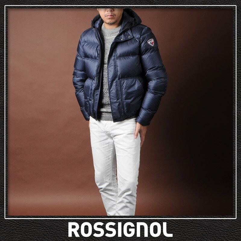 ロシニョールアパレル ROSSIGNOL APPAREL ダウンジャケット メンズ ブルゾン アウター RLFMJ67 ネイビー