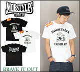 MOBSTYLES モブスタイル 【2カラー】COMBAT T-SHIRTS /Tシャツ/半袖/モバット//通販/正規取扱