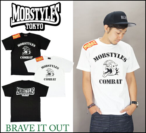 MOBSTYLES モブスタイル COMBAT T-SHIRTS /Tシャツ/半袖/モバット//通販/正規取扱