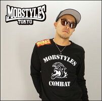 MOBSTYLESモブスタイルCOMBATL/STEEロングTシャツロングスリーブ