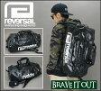 REVERSAL リバーサル reversal GIANT FASTNER BAG-T.R.P Ver /ジャイアントファスナーバッグ/3WAY BAG 大容量