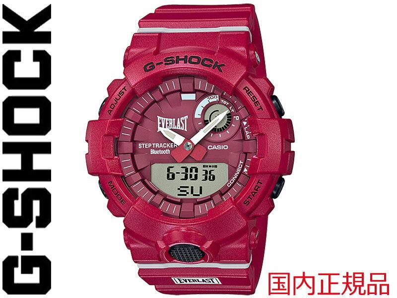 腕時計, メンズ腕時計 G-SHOCK G SHOCK GSHOCK CASIO GBA 800 G-SQUAD Bluetooth 174; EVERLAST GBA-800EL-4AJR
