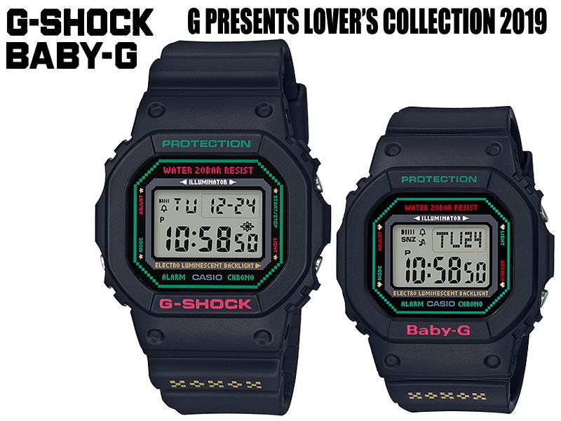 腕時計, ペアウォッチ Lovers Collection 2019 G-SHOCK G SHOCK GSHOCK BABY-G BABY G BABYG LOV-19B-1JR CASIO G