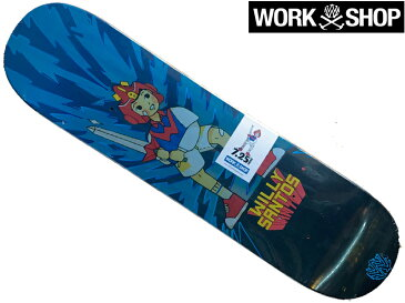 13mind WILLYS WORKSHOP ウィリーズ ワークショップ デッキ 板 Santos V Deck 7.25 mini スケートボード スケボー SKATE 子供サイズ 子供 KID 子供用 初心者 キッズ