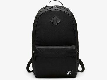 【NIKE SB ナイキ】アイコン Backpack バックパック リュック スケート バッグ 鞄 BA5727 黒 BLACK 26L A4