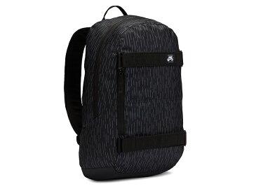 【NIKE SB ナイキ】COURTHOUSE BACKPACK コートハウス バックパック リュック バッグ スケート バッグ 鞄 CU9155 010 24L 黒 BLACK スケートボード スケボー ストリート ブラック