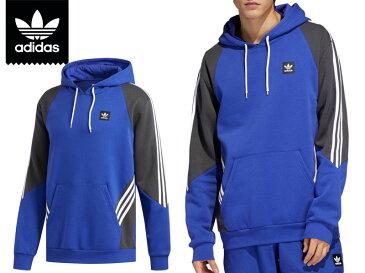 adidas SKATEBOARDING アディダス Insley Hoodie DU8384 パーカー プルオーバー インスリー フーディ アディダス スケートボーディング 3 Stripes 3本線 スリーストライプ アクティブブルー ブルー O XL
