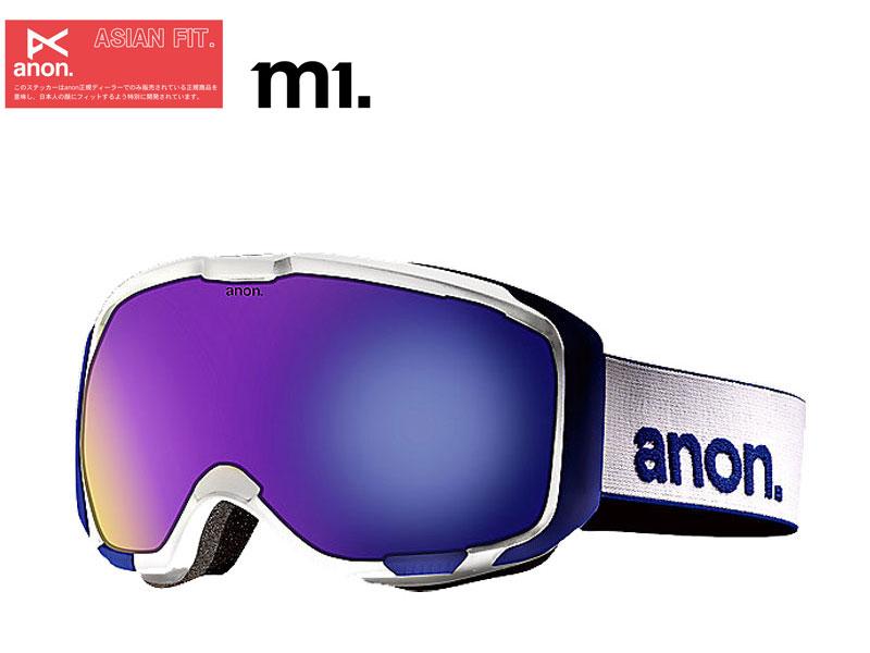 スキー・スノーボード用アクセサリー, ゴーグル anon m1 WHITE BLUE SOLEX 278262104NA 1213