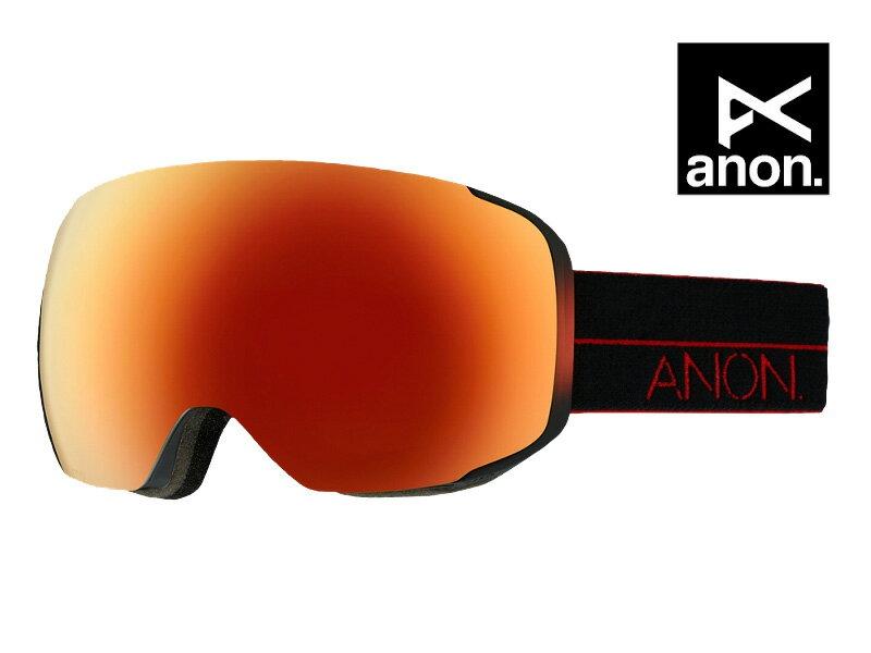 スキー・スノーボード用アクセサリー, ゴーグル ANON M2 RED LIGHT RED SOLEX 10755102180