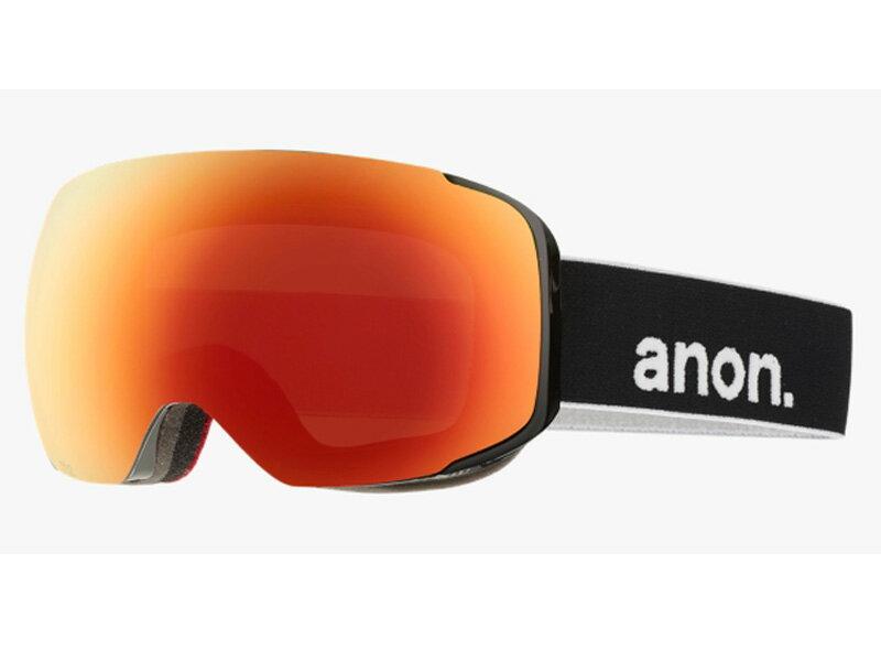 スキー・スノーボード用アクセサリー, ゴーグル ANON M2 BLACK RED SOLEX 10755101007