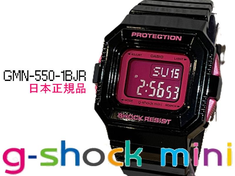 腕時計, レディース腕時計 G-SHOCKMINI GMN-550-1BJR CASIO G-SHOCK G SHOCK GSHOCK mini G