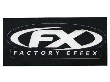 FACTORY EFFEX ファクトリーエフェックス ステッカー sticker スケート サーフィン スノーボード モトクロス BMX ラリー メール便対応