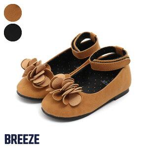 3738432bd5237 フラワーモチーフシューズ▽▽ 女の子BREEZE ブリーズ子供服キッズベビーシューズ靴かわいい春